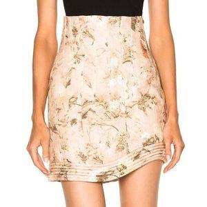 Zimmermann Bowerbird Corselet Skirt 1/ Small